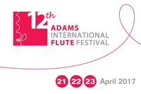 Adams 12th Annual International Flute Festival