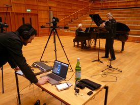 Recording at North Bridge Flute Academy