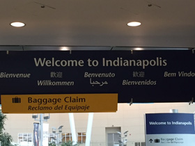 Welcome to Indianapolis!